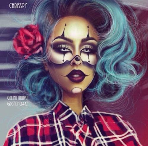make up assassina psicopatica halloween