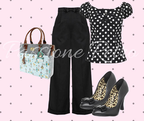 outfit vintage look casual