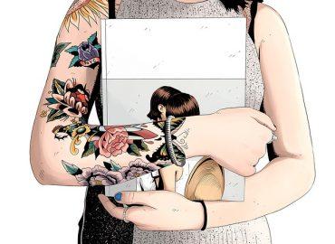 tatuaggi in stile pin up vintage
