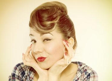 come fare i capelli in stile pin up