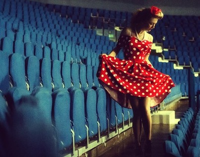 look anni 50 pin up