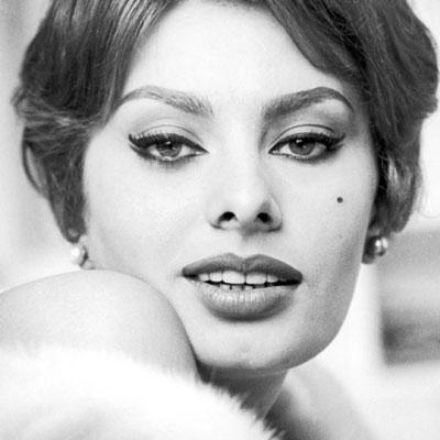 eyeliner sophia loren anni 60