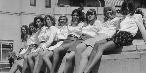 minigonna negli anni 60