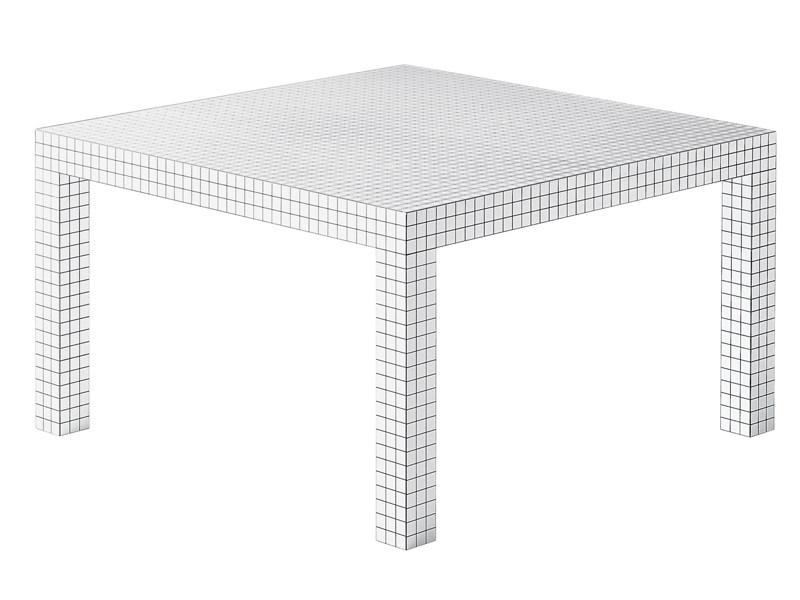 tavolo quaderna by zanotta per superstudio