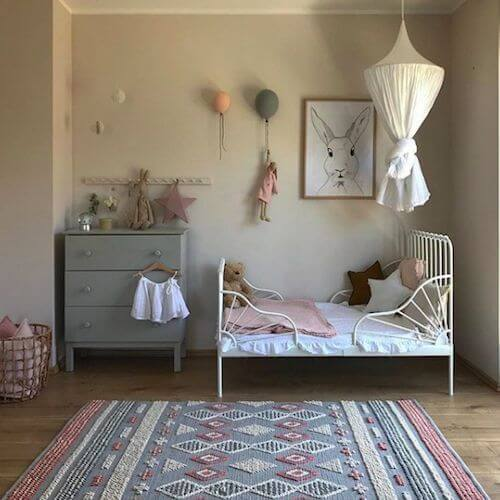 arredare la camera in stile vintage