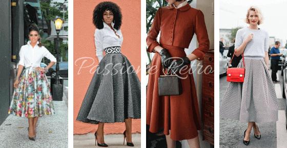 gonne anni 50 i modelli vintage