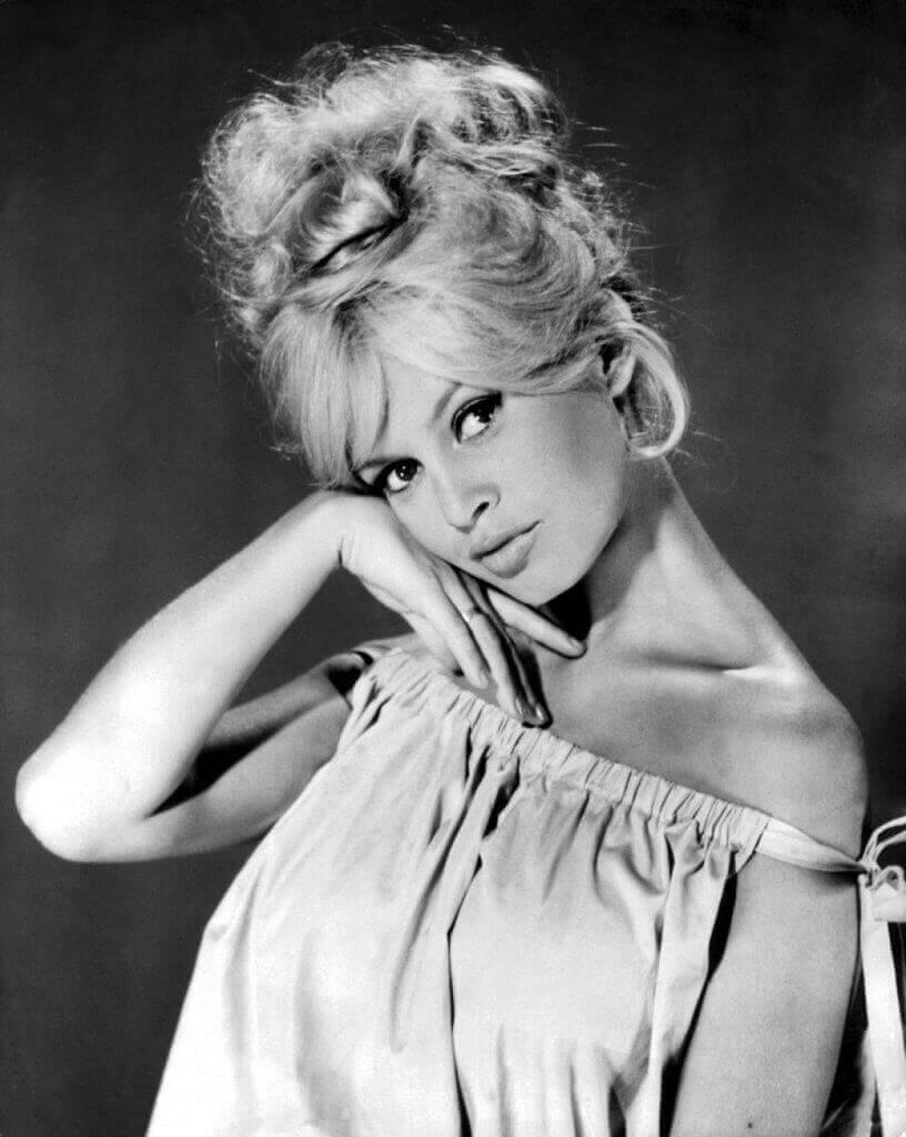 Brigitte Bardot icona attrice anni 50