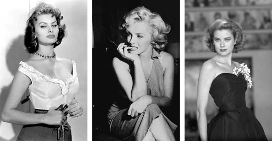 donne icone anni 50
