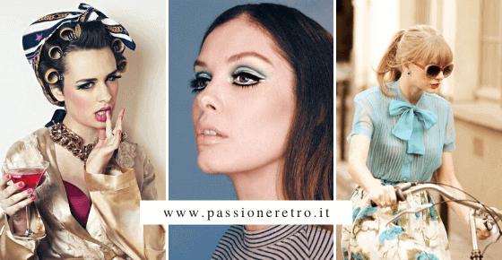 trucco, abbigliamento e stile anni 50